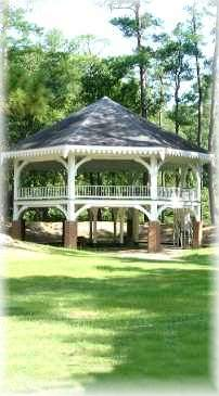 historic Abita Springs pavilion